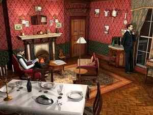 Sherlock Holmes the silver earring3