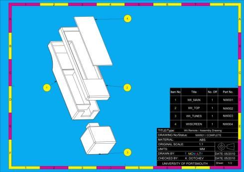 NextGen Nintendo Wii Remote Design