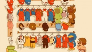 Mario's Incredibly Huge Closet