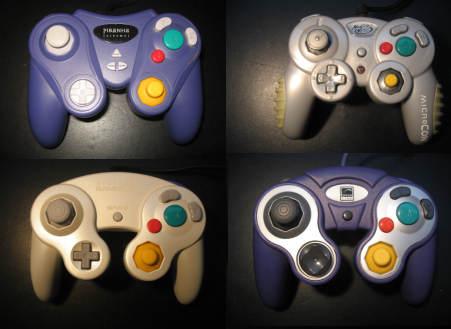 4 GameCube Controllers