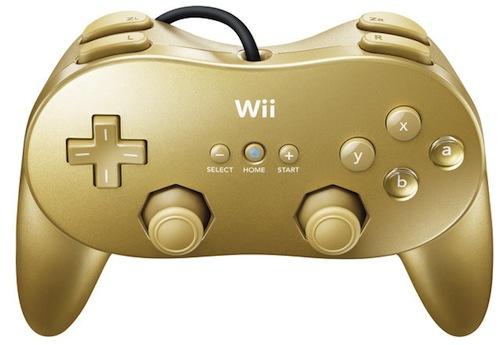 Golden Controller Wii
