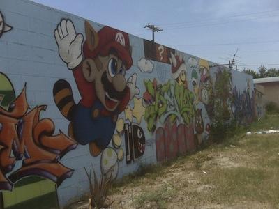 Mario Mural