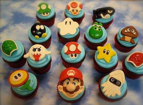 supermario cupcakes