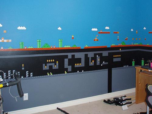 Mario Painting Room