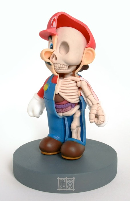 mario anatomy super mario bros