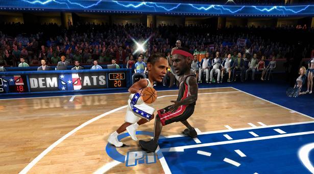 NBA Jam Pres Obama 2