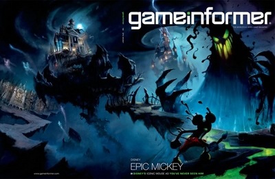 Epic Mickey GameInformer Reveal