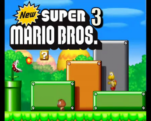 New Super Mario Bros. 3 Image 1