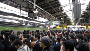 Rush Hour at Shinjuku 02 by Chris 73