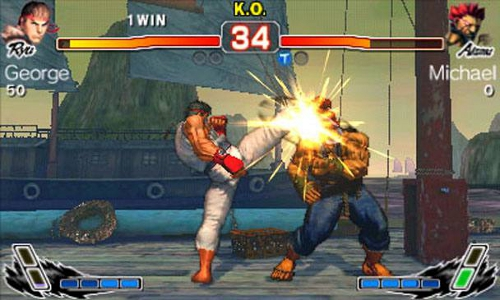 Super Street Fighter IV 3D Image