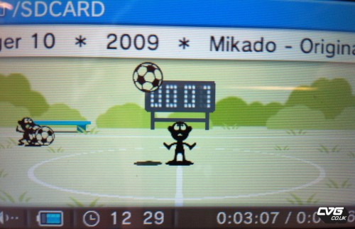 Game & Watch Nintendo 3DS Visualizer
