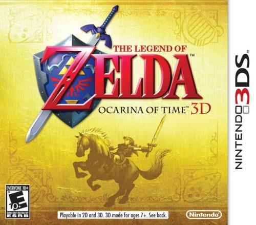 Zelda: Ocarina of Time 3D Box