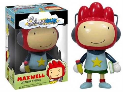 Scribblenauts Maxwell Action Figure Image
