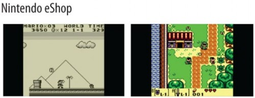 Nintendo eshop Virtual Console Image