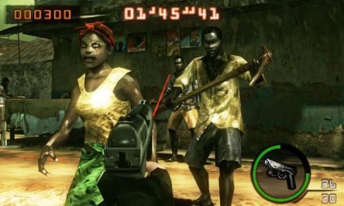 Resident Evil Mercenaries 3D Image 2
