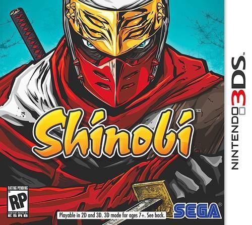 Shinobi 3DS Game Box Cover