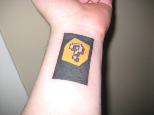 Nintendo 3DS AR Card Tattoo Image 2