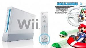 Nintendo Wii Mario Kart Bundle Image