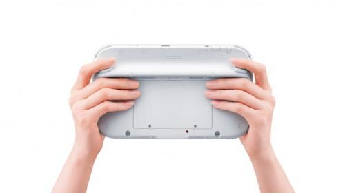 Wii U Controller Back Image