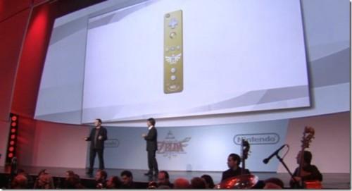 Zelda Skyward Sword Gold Wii Remote