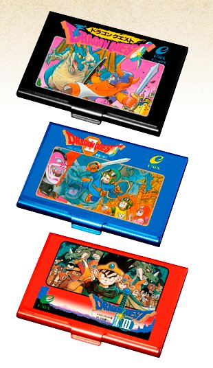 Dragon Quest Card Cases Images