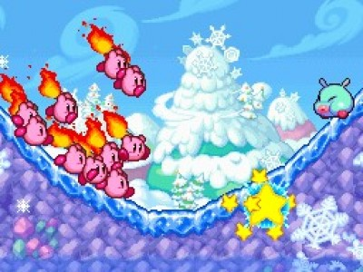 Kirby Mass Attack DS Image 1