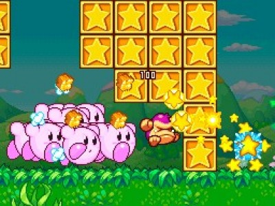 Kirby Mass Attack DS Image 2