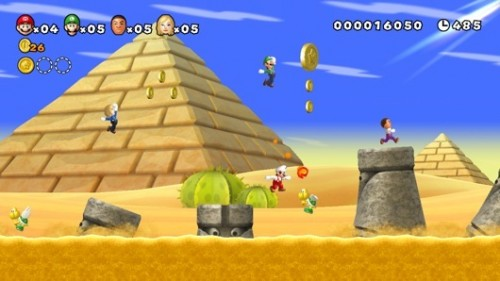 New Super Mario Bros. Wii U Demo Image