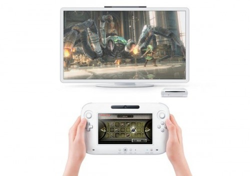 Nintendo Wii U Controller TV Screen Image