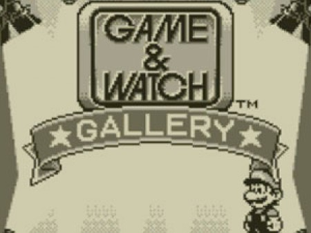 Game Watch Gallery Game Boy