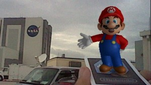 Mario at Space Shuttle Launch 1