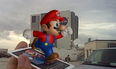 Mario at Space Shuttle Launch 3