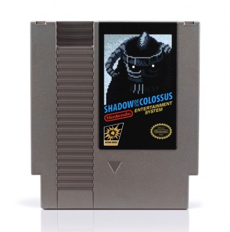 SoC Blue NES Cartridge