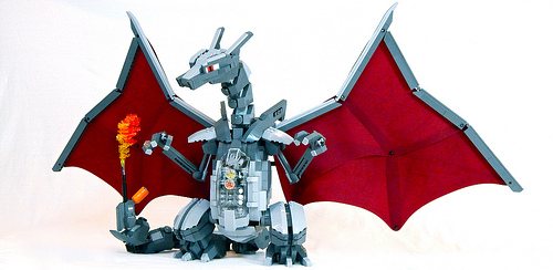 LEGO Mecha Charizard by Zane Houston image 1