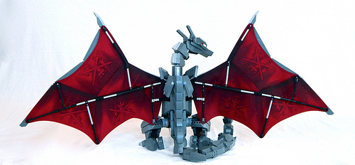LEGO Mecha Charizard by Zane Houston image 2