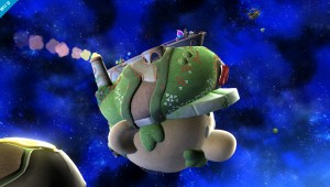 Super Smash Bros Wii Super Mario Galaxy stage image 1