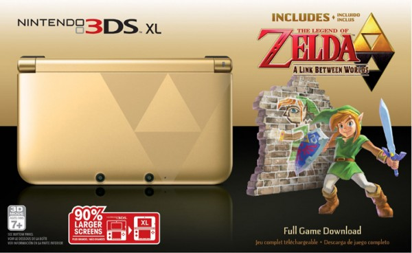 Zelda A Link Between Worlds 3DS XL image 1