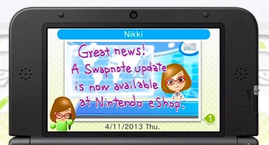swapnote 3DS image