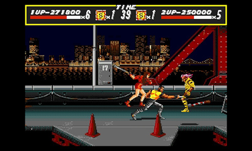 3D Streets of Rage Nintendo 3DS classic image