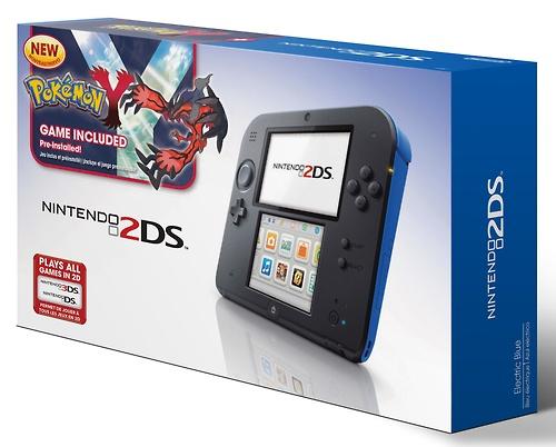 Nintendo 2DS Pokémon blue Y bundle Target image
